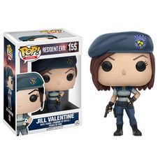 This is a Funko Resident Evil POP Jill Valentine Vinyl Figure that's produced by the good folks over at Funko. It's neat to see that Resident Evil got it's very own line of POP's. Jill Valentine, Pop Vinyl Figures, Funko Pop Figures, Comic Book Heroes, Comic Books, Valentine Resident Evil, Classic Video Games, Pop Games, Mode Shop