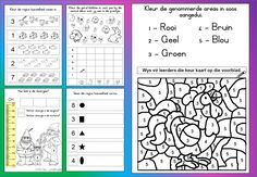Teaching Resources for South African Teachers Teaching Posters, Teaching Resources, 1st Grade Math, Grade 1, Homework Sheet, Exercise For Kids, Math Worksheets, Afrikaans, Smart People