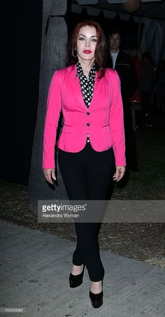 Priscilla Presley at The Annual Johnny Ramone Tribute held at The Hollywood Forever Cemetery on August 2012 in Hollywood, California. Priscilla Presley Wedding, Elvis Presley, Hollywood California, In Hollywood, Hollywood Forever Cemetery, August 19, Lisa Marie, Life, Fashion