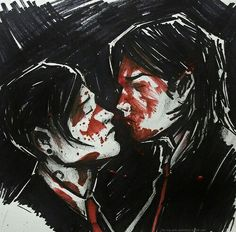 Three cheers for sweet Frerard <<< Nice caption, whoever drew this is really talented.