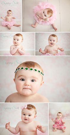 9 month old Alaina - Little Princess