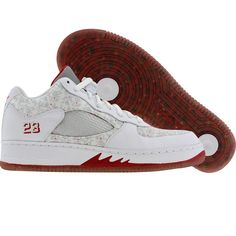 d2bf6298d0b0 Nike Air Jordan Force 5 AJF5 Low (white   white   varsity red   white)  325332-111 -  94.99