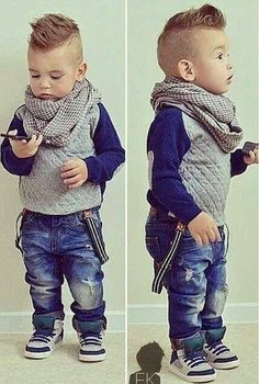 Stylish Baby Names 2014 for Boys.fashion idea for boys Little Boy Fashion, Baby Boy Fashion, Fashion Kids, Toddler Fashion, Fashion 2016, Winter Fashion, Toddler Haircuts, Little Boy Haircuts, Little Boy Mohawk