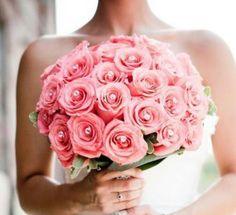 Rosas y perlas.