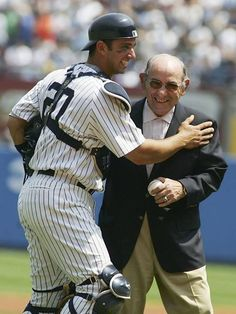 Yogi and Jorge.....2 of the best to ever catch for the Yankees