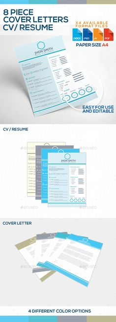 UpNormal CV Cv template, Resume and Resume templates - complete resume