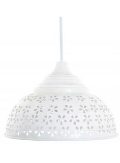 Lacy lamp - so pretty.