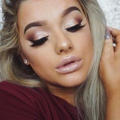 60 Soft Wedding Makeup Ideas 2017 – VIs-Wed Wedding make up ideas 2017 46 Formal Makeup, Prom Makeup, Hair Makeup, Party Eye Makeup, Teen Makeup, Bridesmaid Makeup, Soft Wedding Makeup, Bridal Makeup, Charlotte Tilbury