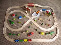 13 Best Train Tracks Images Wooden Train Wooden Toy Plans Wooden