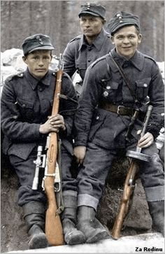 Finnish Forces - Finn Sniper Team with weapons Ww2 Pictures, Ww2 Photos, German Soldiers Ww2, German Army, Military Photos, Military History, World History, World War Ii, Man Of War