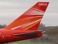 Oasis Hong Kong Airlines Boeing 747-412