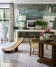 Michael Lee, visual comfort, african chair