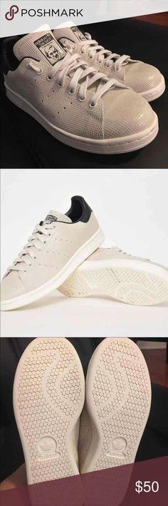 Adidas Stan smith white chalk 8.5 women White leather  Stan Smith  sneakers  from Adidas 11164186c4