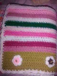 Manta para mi amiga Marta Manta Crochet, Html, Blankets, Knitting, Baby Afghans, Bed Covers, Bebe, Tricot, Breien