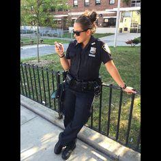 NYPD female cop