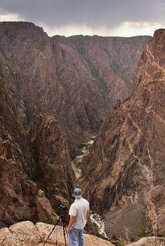 Black Canyon of the Gunnison National Park, CO   Wayne Boland via Flickr