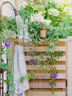 Make an outdoor shower a pretty (and practical!) addition to your home—whether you're looking to wash off after a day in the garden or simply want to spend more time in nature. We found a dozen of our…MoreMore #LandscapingandOutdoorSpaces