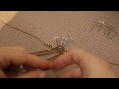 Victorian Macrame Earrings Tutorial - Brinco em Macrame - YouTube