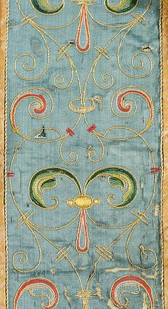 Cape Date: late 16th century Culture: Spanish Medium: silk, metal thread