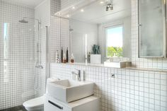 Mosaic bath room, Saltsjöbaden, Stockholm.
