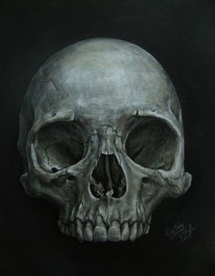 Skull Painting by gimmegammi on deviantART