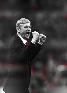 The Boss celebrates the victory Arsenal Football, Arsenal Fc, Match Of The Day, Arsene Wenger, Victorious, History, Trust, Boss, Historia