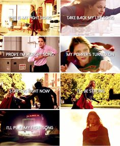 And I don't really care if nobody else believes 'Cause I've still got a lot of fight left in me #supergirl