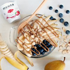 Get your protein in the morning from Muuna cottage cheese instead of bacon or sausage. This hearty overnight oats breakfast bowl has a whopping 21 grams of protein and is a delicious way to start your day. http://muuna.com/recipes/hearty-oat-cottage-cheese-breakfast-bowl/