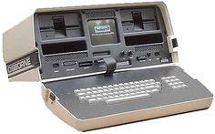The Osborne 1 portable computer, circa 1981.