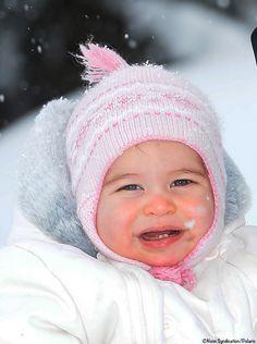 Princess Charlotte Nunn Syndication/Polaris Hoje, dia 2 de Abril, ele faz 11 meses.