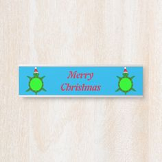 #promo Cute Christmas Turtle with Flowery Shell Custom Door Sign #turtle #christmas #green #and #red #DoorSign #affiliatelink #merrychristmassigns #merrychristmas #holidaysigns #christmasdecor Merry Christmas Sign, Holiday Signs, Door Signs, Party Hats, Metal Signs, Or Rose, Turtle, Birthday Parties, Shells