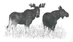 Two illustrations from Kalevala-kuvitusta by Pirkko-Liisa Surojegin           M. Gershenzon, Zveri v peshchere ,1931        ...