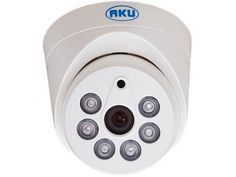Camera supraveghere video AKU Dome interior 1,3MPxl infrarosu ARRAY rezolutie AHD-M    Senzor imagine 1/4 CMOS Rezolutie 1.3 MPxl (1280 X 720 pixeli)Infrarosu DA; 6x Led ARRAY.Iluminare F1.2 / 1.0 LuxLentila 3,6 mm.Iesire video BNC 1 Vp-p / 75 Ohms ΩS / N (Zgomot) > 48dbAlimentare DC12V±10%; 750-800mA.Temperatura functionare 0 °C ~ 50 °C.