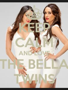 KEEP CALM AND LOVE THE BELLA TWINS!!!