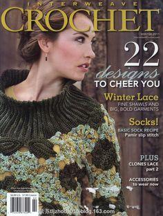 Interweave Crochet 22 2011--- носки крючком