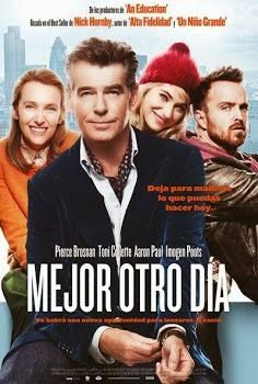 Titulo Original: A Long Way Down Titulo Hispano: Mejor Otro Dia Idioma: Español Latino País: Reino Unido