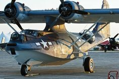 Wings in the sky — Consolidated PBY Catalina.