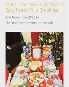 Elf on The Shelf North Pole Breakfast Ideas. North Pole Breakfast, Breakfast Menu, Savory Breakfast, Best Breakfast, Breakfast Ideas, Breakfast Recipes, Snack Recipes, Cinnamon Cereal, Pie Flavors