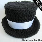 Craftsy- pattern for baby top hat (small charge for pattern)
