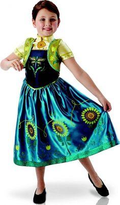 Déguisement Anna Frozen™ - Une fête givrée™ fille - Cléo