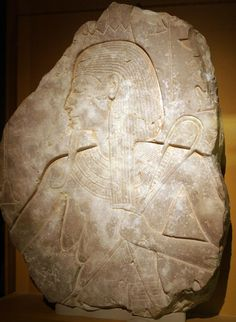 Relief Portraying a Nile god - Late Dinasty 18, reign of King Ay, 1325 - 1321 B.C.