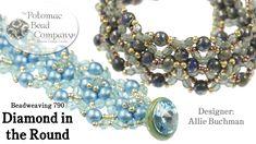 "Make a "" Diamond in the Round "" bracelet"