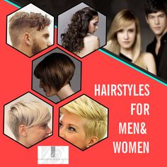 There are different types of #hairstyles for both men and women. We have something for everyone. #Benjamin Hair & Co. has haircuts for men, women and children everyone.  We provide with different hairstyles and hair treatments. Book Your Appointment Now!