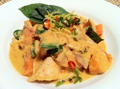 Paleo Chicken Panang Curry