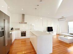 cucina all\'americana | Cucine | Pinterest | Galley kitchen design ...