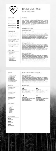 11 Awesome nursing cover letter images | Cover letters, Job resume ...