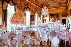 white louis chairs for wedding