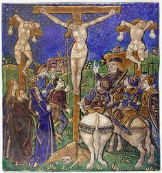 Triptych Panel with the Crucifixion    Date:early 16th century  Geography:Made in Limoges, France  Culture:French