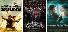 ¿Tenéis ganas de estrenos? Pues ahí van los nuestros: '2 Guns', 'Las brujas de Zugarramurdi' y 'La espuma de los días'.