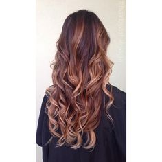 """""""I added some flamboyage + balayage highlights to break up her ombré, and create a more natural all over highlighted look; layered haircut + quick flat…"""""""